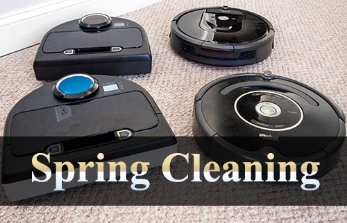 Use Technology to Ease Spring Cleaning This Year